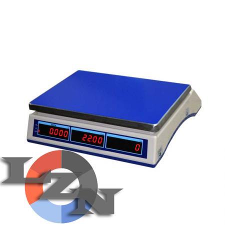 Весы торговые настольные электронные ВТНЕ/1-30Т1 - фото №2